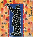 余友涵 Yu Youhan 招手 Waving hand 2012, 67 x 60 cm 絲網版 Silkscreen Print 版數 Edition of 52