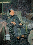 余友涵 Yu Youhan  毛主席過生日 Chairman Mao Celebrating His Birthday 2011, 94 x 70 cm 絲網版 Silkscreen Print 版數 Edition of 80